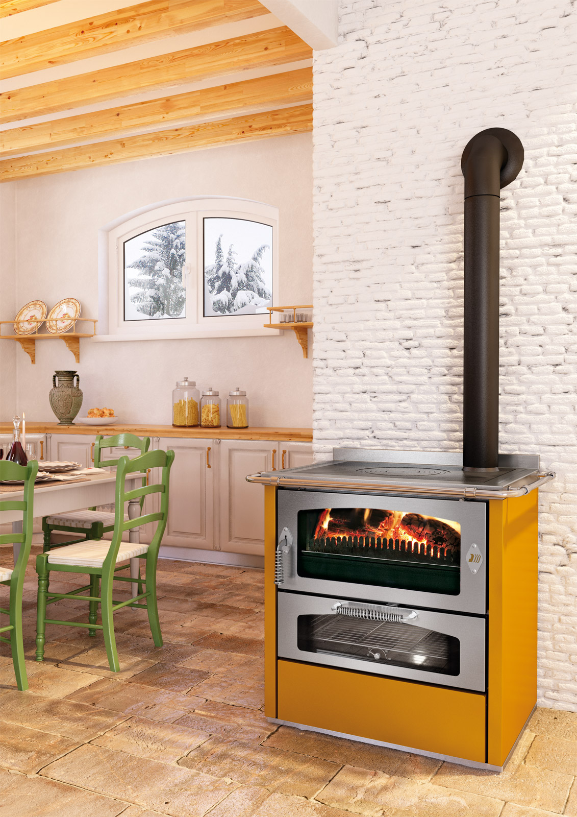 Mazzolani for Stufe jotul usate